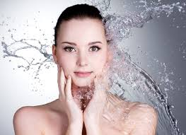 Keep clean and wash your face with a gentle cleanser