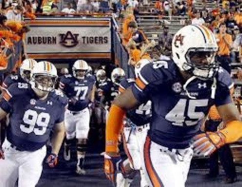 The Auburn Tigers are a major part of College sports in Alabama where football is huge.