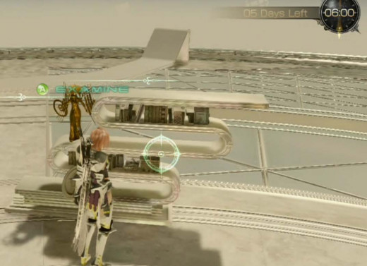 Lightning Returns Final Fantasy XIII the trophy station in the Ark - fight the Zaltys again to return to the world below.