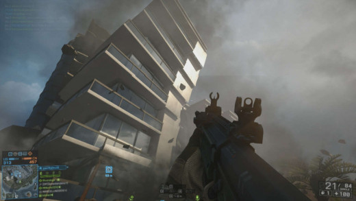 Just one example of Levolution, the name given to the game's destructive environments.