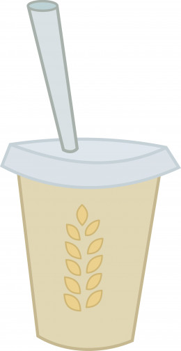 Artwork - Smoothie Extra Hay by HourGlassPony @ deviantart.com