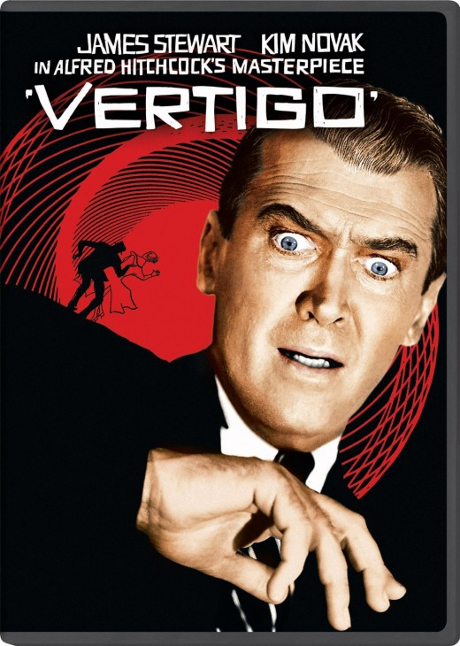 Vertigo (1958) DVD Cover. You can buy it today, or download as an Instant Video for only $9.99, which is what I did.