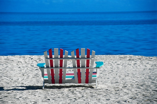 Your Beach Chairs Are Waiting...NOT!