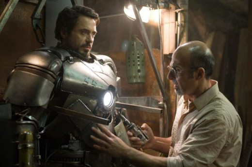 "Yinsen plays a formative role. He gives his life that Stark, may live. This helps give Stark a ""push"" to become the ""IronMan"" / hero we know. ""Yinsen"" re-appears in the beginning of IronMan3- where he first meets Stark, in a conference."