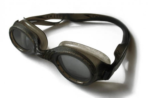 Using goggles will enhance your swimming experinece.