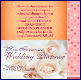 Introducing THE SAN FRANCISCO WEDDING PLANNER from Helping Hands Press - a fun new series featuring six authors (including me!). Only 99 cents for Kindle, Nook, and Kobo.