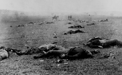The Battle of Gettyburg