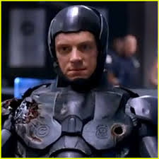 Joel Kinneman stars as Alex Murphy in the remake/reimagining of the futuristic police thriller RoboCop