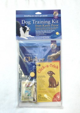 The Clicker Training Kit has all you need to get started.