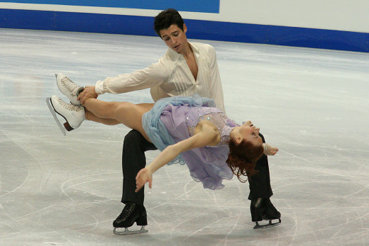Virtue and Moir, Davis and White's biggest competition. Capturing the silver medal in 2014 and the gold in 2010.