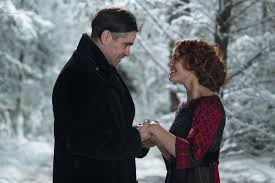 Colin Farrell and Jessica Brown Findlay star as starcrossed lovers in the romantic film Winter's Tale