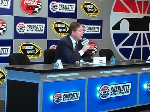 Chairman Brian France is the public face of NASCAR's Chase and his legacy will rise or fall based upon its success