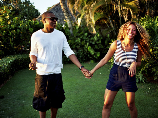 Jay - Z  and Beyonce Carter Knowles
