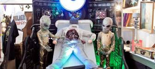 Alien medical testing may very well be why victims of abduction start exhibiting physical ailments