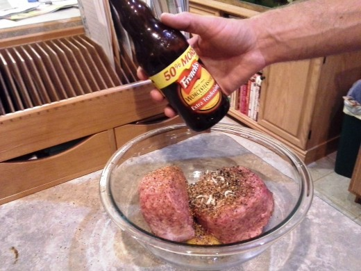 Step Seven: Add in your Worcestershire sauce