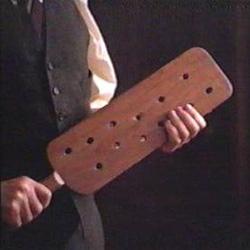 A paddle of malice