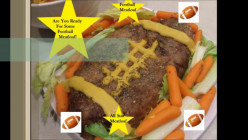 How To Make A Football Meatloaf (Grub With Hub)