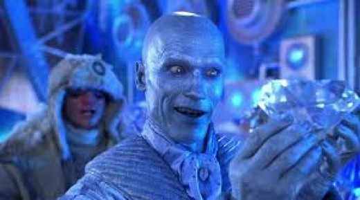 Arnold schwarzenegger in a horrible turn as Mr. Freeze