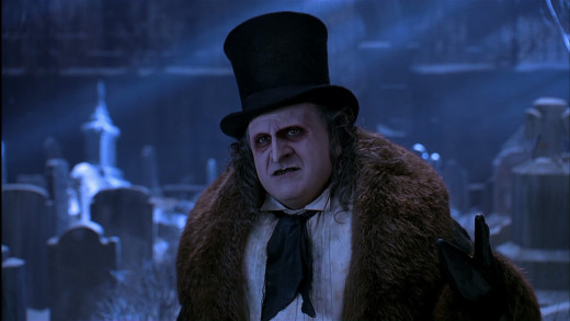 Danny DeVito played The Penguin in Batman Returns