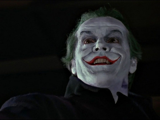 Jack Nicholson was truly iconic as The Joker in Tim Burton's Batman