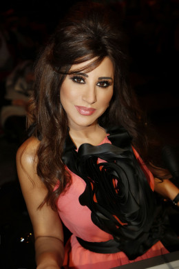 Just from her looks I'd say this Arab's got Talent!!! Wow, gorgeous. This is Najwa Karam, a Judge on the show. I guess she can sing (shows how western I am) and she can probably dance too. She's in her late 40's. OK, I'll stop admiring right here.