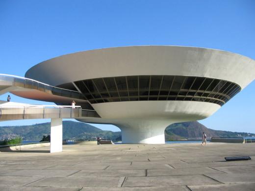 """The Niteroi Contemporary Art Museum"""