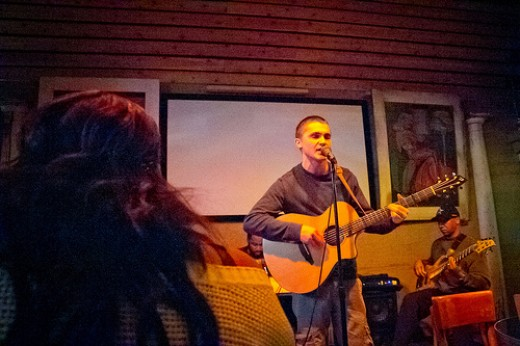 Hitting open mic nights at local bars, clubs, or art spaces is a great way to meet other musicians and network. Get your name out there as someone who is looking to start a band, and pretty soon applicants will be seeking YOU.
