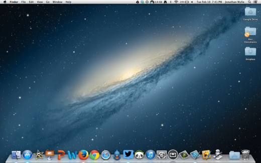 How to take a screenshot on a mac and annotate it hubpages mac desktop screenshot ccuart Gallery