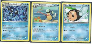 Tympole, Palpitoad, & Seismitoad