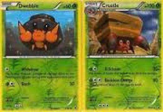 Dwebble & Crustle Pokémon Cards