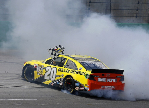 Kenseth won a number of races last season but Daytona eluded him thanks to a blown engine