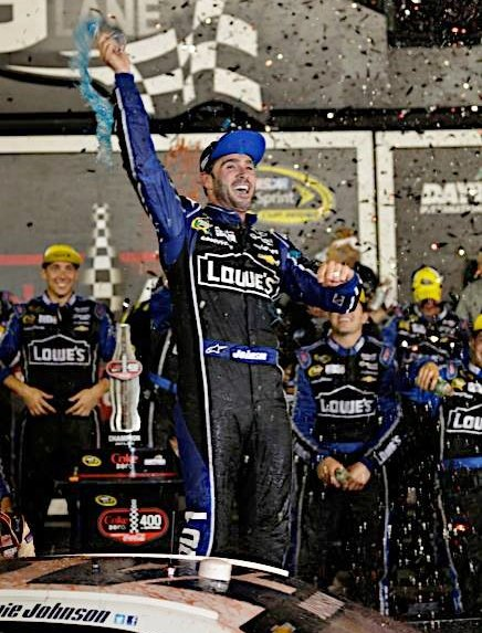 Jimmie Johnson, NASCAR's only active five time champion, is the obvious choice at #1