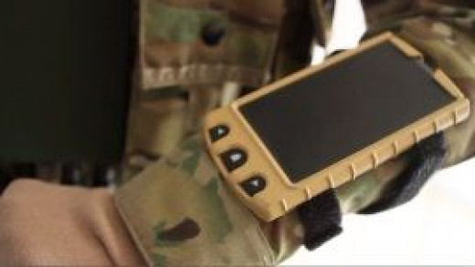 Windows 7 military wrist-mounted watch-like thing.