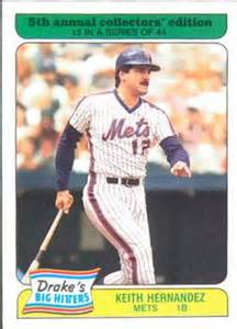 Keith Hernandez 1987 Drakes - Knock one more off my list!