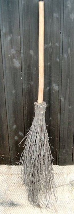 Ozark households might lay a broomstick across the front doorstep to ward witches off.