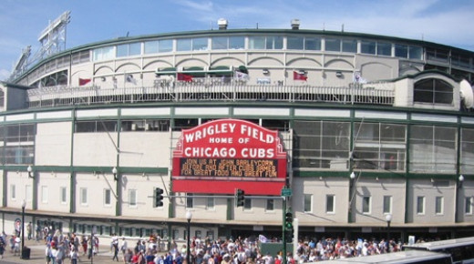 Wrigley Field; Home of the Chicago Cubs