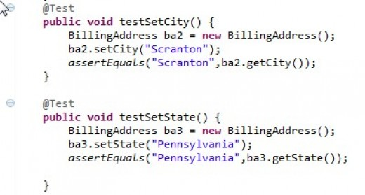 The code for the two remaining test cases.