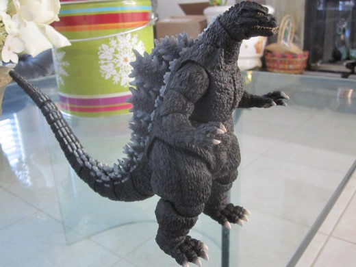 The SH MonsterArts Godzilla was the first figure from the line. An online version of this figure was produced for San Diego Comic-Con  in 2012 with the skin similar to what Godzilla would have looked like had he undergone an meltdown.