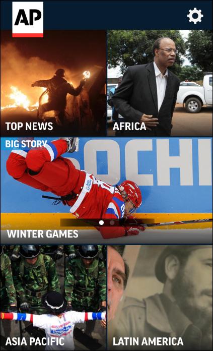 AP Mobile feed app