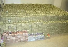 Captured US dollars