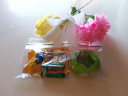 Separate into small plastic bags or large eggs.