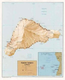 "The map of ""Easter Island"""
