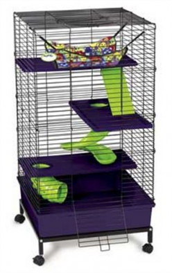 What is the best cage for a ferret
