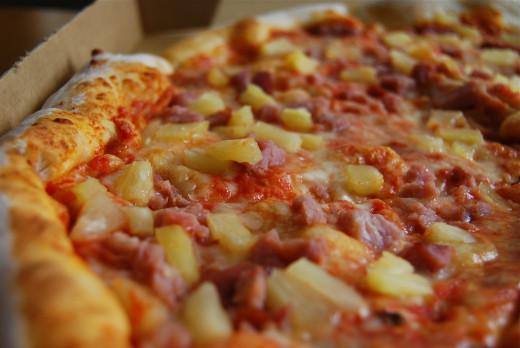 Do I like pineapple? Not on my pizza.