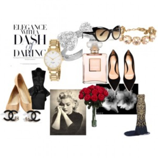 Polyvore can also be a great choice for creating a style board, like this example I use for myself!