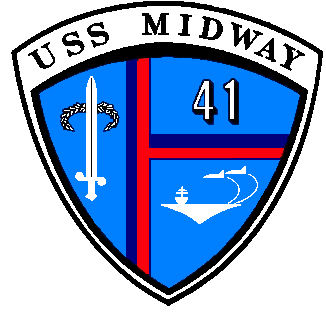 Seal of Aircraft Carrier USS Midway (CV-41)
