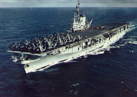 USS Midway (CV-41) in September 1952
