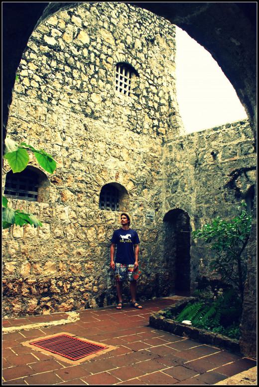 Inside the gate