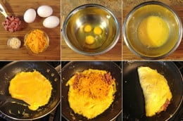 To me omelettes are one of the hardest things to make because the have to be perfect in flavor and texture and today I want to share with you some helpful tips on how to make a tasty omelet.