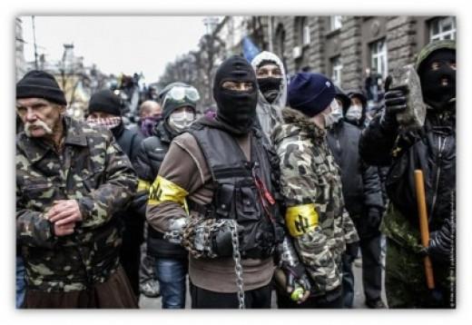 The Peaceful Protesters - Ukrainian Fascists